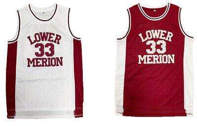 Kobe Bryant #33 Lower Merion High School Mens/Youth Basketball Jersey Stitched | eBay