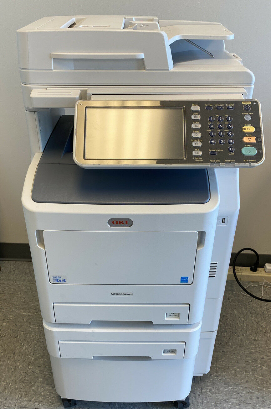 OKI Data MPS46mb 46ppm B&W Multifunction LED Copier/Printer/Fax/Scan  w/toner