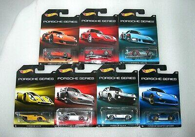 NIP Hot Wheels Porsche Series 1:64 Diecast Asst