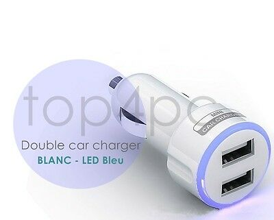 CHARGEUR VOITURE DOUBLE USB UNIVERSEL - DUAL USB OUTPUT CAR CHARGER