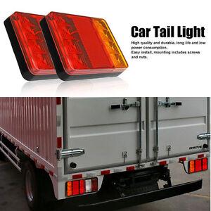 aar 8 LED LKW Trailer Anhänger Rückleuchten Rücklicht Blinker ...
