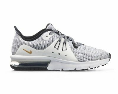 Boys nike air max Sequent 3 GS 922884 007 Filles Baskets Blanc Femme Chaussures De Sport | eBay