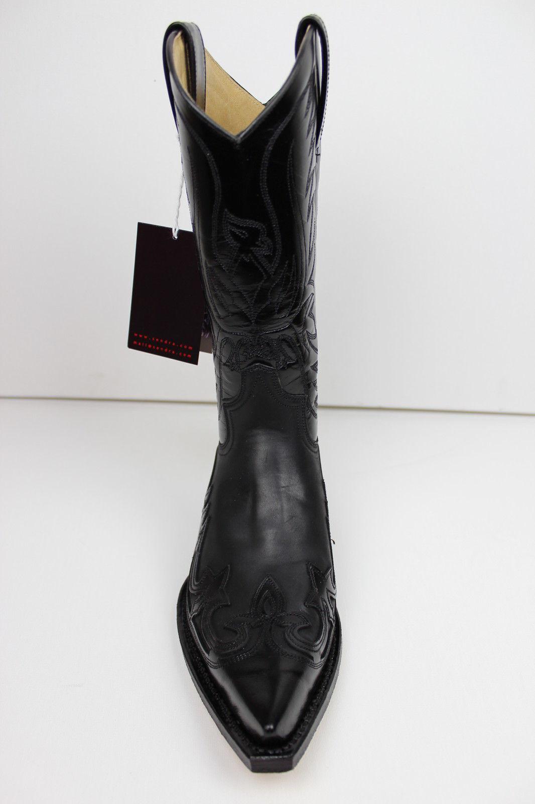 Sendra vaqueras botas Western 3241 botas negro 3241 Western 3d194f