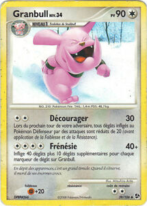 Pokemon-n-39-106-GRANBULL-niveau-34-PV90