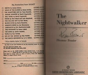 Signed-copy-of-The-Nightwalkers-by-Thomas-Tessier-1981-Paperback