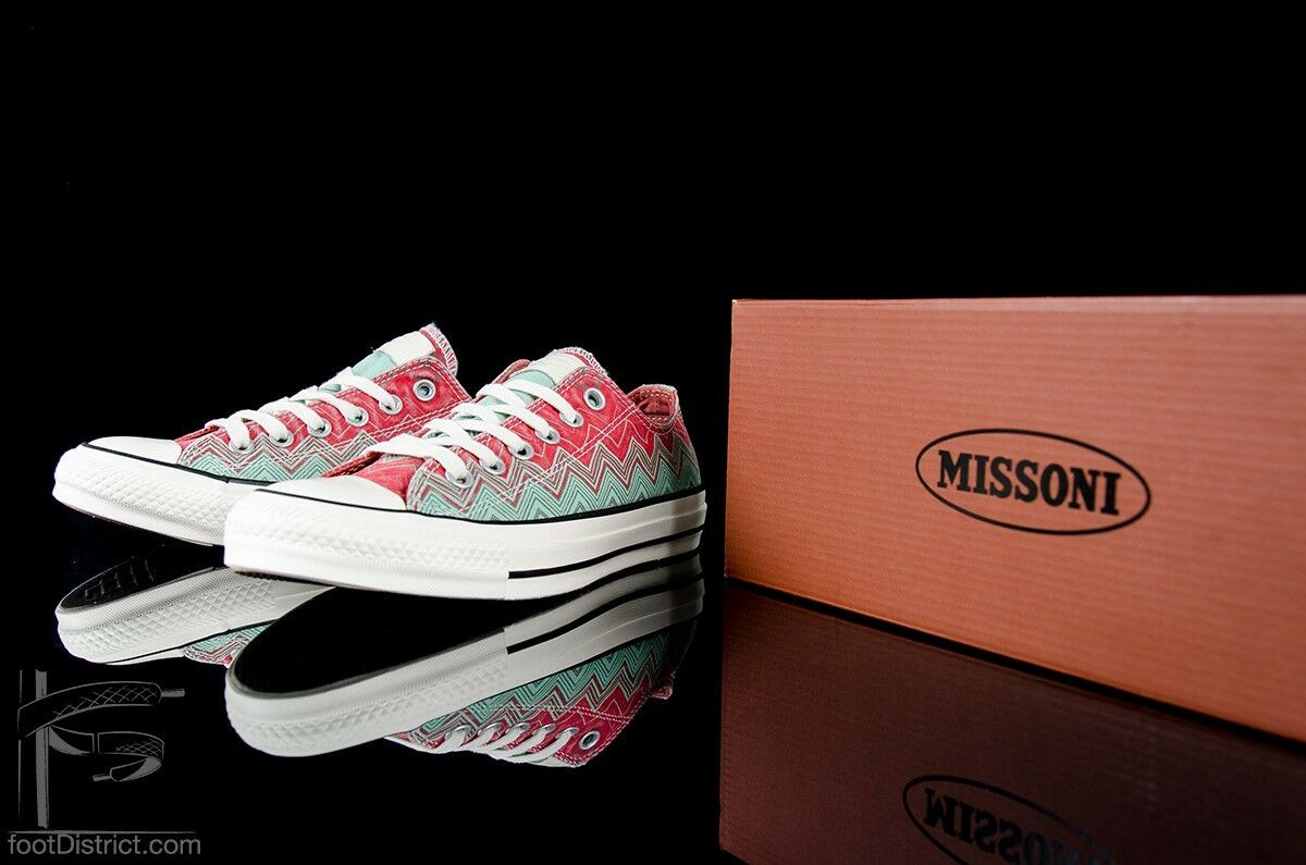 CONVERSE X MISSONI CT OX.. MULTI-COLOR.. hommes 5 or femmes 7.. FAST SHIPPING