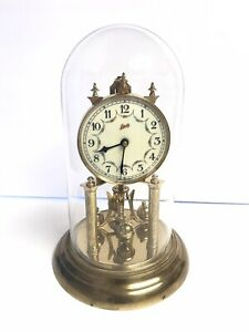 Schatz-Clock-For-Parts-Of-Repair-Not-Working-Made-In-Germany-Vintage