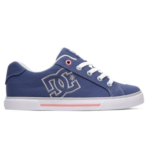 Up Bg Chelsea Skate Dc Shoes Blue new 9s Boxed Lace Trainers 26 Tx Womens qBfwBagv
