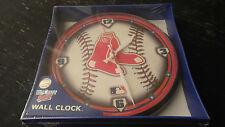 "Boston Red Sox MLB 12"" Round Wall Clock"