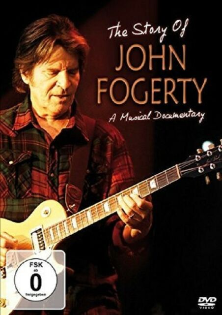 JOHN FOGERTY - THE STORY OF   DVD NEW