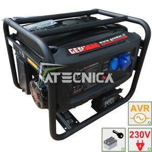 Generatore di corrente 6Kw GENMAC G6000E gruppo elettrogeno + partenza elettrica