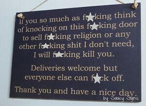 Naughty-Door-Knockers-F-cking-Sign-Navy-welcome-warning-religion-nice-day