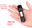 POTENTE MINI TORCIA LED TATTICA RICARICABILE USB PILA ZOOM CREE COB PORTATILE