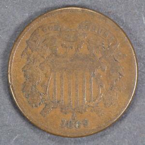 1869-2c-TWO-CENT-PIECE-LOT-E308