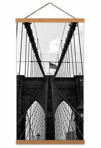 Brooklyn-Bridge-New-York-City-Architecture-Canvas-Wall-Art-Print-Poster