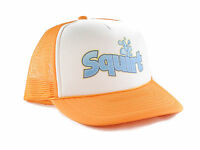 Squirt Soda Trucker Hat Mesh Hat Snapback Hat Yellow