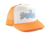 Squirt Soda Trucker Hat Mesh Hat Snapback Hat Yellow