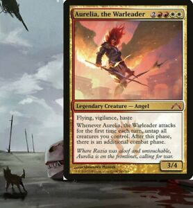 Aurelia, the Warleader Boros ANGEL Commander Deck Magic ...