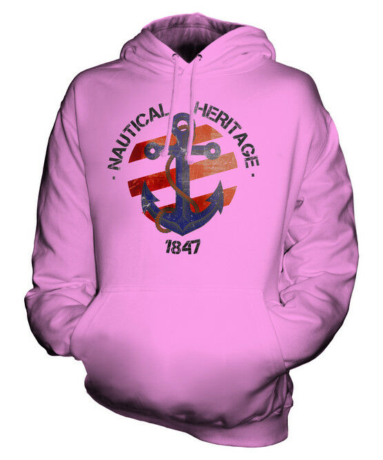 NAUTICAL HERITAGE 1847 UNISEX HOODIE  Herren Damenschuhe LADIES GIFT DRESS ACCESSORIES