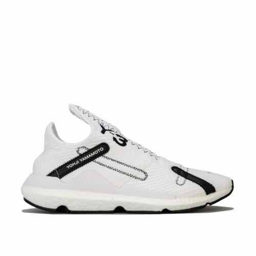 Y-3 Reberu Trainers In White Sock Like Fit Slip On Primeknit