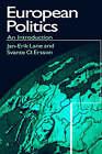 European Politics: An Introduction by Svante O. Ersson, Jan-Erik Lane (Paperback, 1996)
