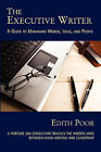 The Executive Writer by Edith Poor (Paperback / softback, 2008)