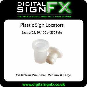 Locator-Fixings-Sign-Locators-Letter-Stand-off-Fixings-UV-Stable-VAT-Inc