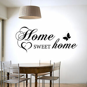 home sweet home interiors home sweet home wall sticker vinyl decal transfer home 18435