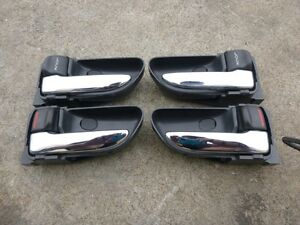 Subaru Impreza WRX GDA GDB STi Chrome Interior Door Handle Set | eBay