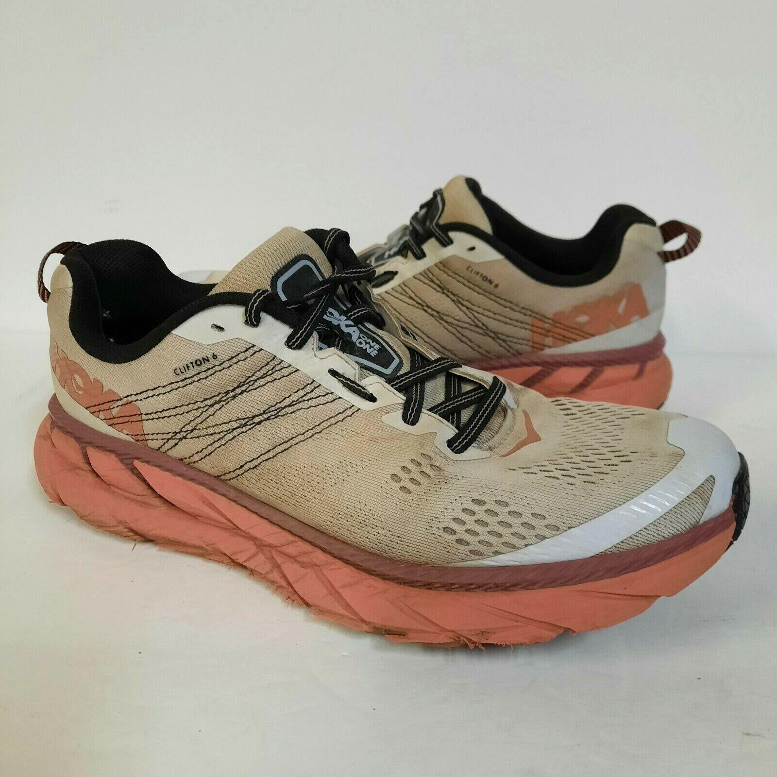 HOKA One One Clifton 6 Chaussures De Course Baskets Pour Femme 9.5 Nimbus Cloud 1102873