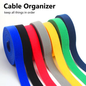 Adhesion Cable Ties Cord Winder Cable Organizer Wire Management For Home Office