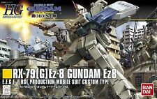 Bandai HGUC 155 GUNDAM RX-79(G) Ex-8 Gundam Ez8 (The 08 MS Team) 1/144 scale kit
