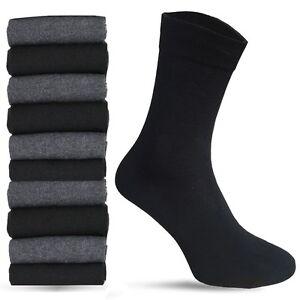 Details zu ? Socken 10 100 Paar Herren Business Strümpfe Baumwolle Socken Schwarz Anthrazit