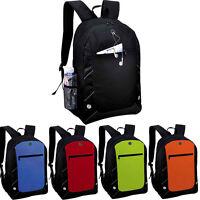 ViVo Anthracite Backpack Back Pack Rucksack Sports Gym School Travel Holiday Bag