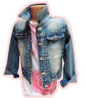 Under*18~Mädchen Jeansjacke Übergangsjacke Jeans~Gr. 2-12~SchnäppchenCorner~NEU