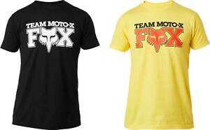 Fox-Racing-Team-Moto-X-T-Shirt-Short-Sleeve-Graphic-Tee-Mens-Motocross-MX-MTB