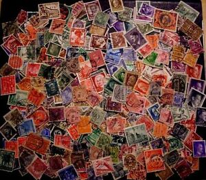 Imperio-aleman-Dr-sellos-sellos-timbres-Stamps-coleccion-tesoro-Lot