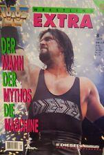 WWF WWE Magazin Extra 1995 Diesel Kevin Nash Wrestling + Poster + Autogramm
