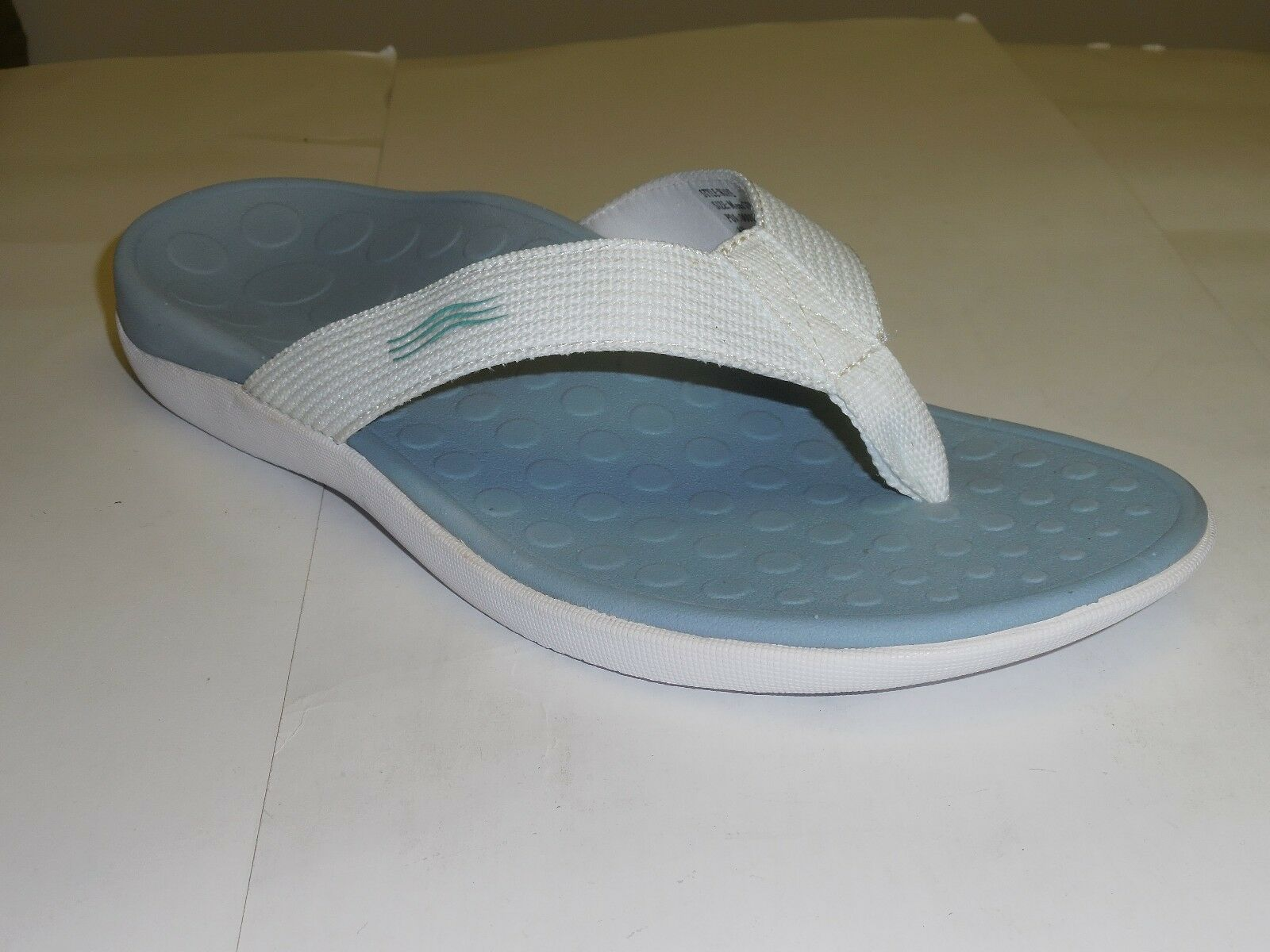 The Original Orthaheel Unisex Sandals With Orthaheel Technology Wave White bluee