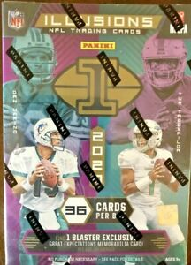 2020-PANINI-ILLUSIONS-FOOTBALL-BLASTER-BOX-SEALED-prizm-donruss