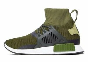 Adidas-Originals-NMD-XR1-Hiver-Sneaker-Hommes-UK-Tailles-6-12-Olive-Entierement-neuf-dans-sa-boite