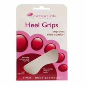 CARNATION-HEEL-GRIPS-1-PAIR-IMPROVES-SHOE-COMFORT-REDUCES-FRICTION-amp-SLIPPING