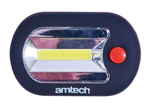2W Cob Led Worklight /& 3 Torch Magnet Workshop Camping Emergencies Tool Amtech