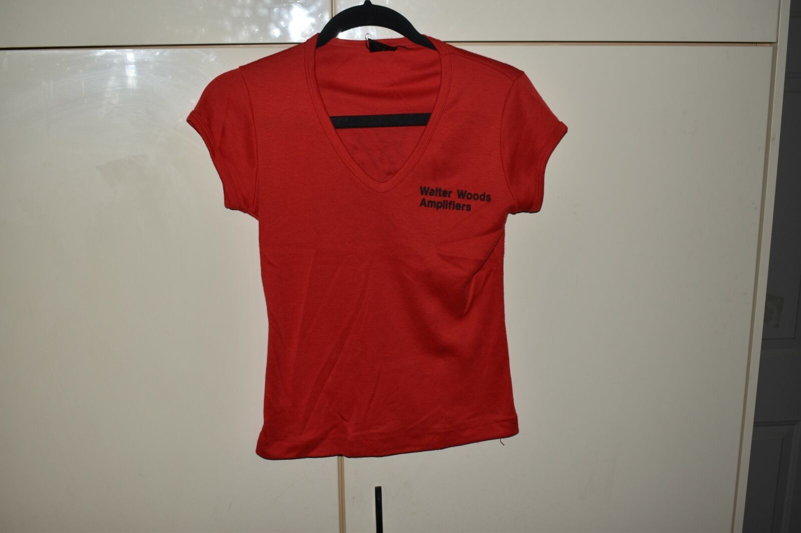 <MA> VTG GRAPHIC T-SHIRT- WALTER WOODS AMPLIFIERS (TS8)