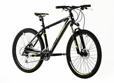 "MOUNTAIN BIKE MTB ALLOY FRAME & FORK FRONT SUSPENSION 27.5"" WHEELS HARD TAIL"