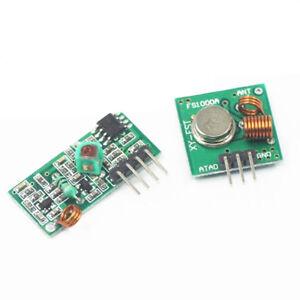 Detalles De 433mhz Módulo Transmisor Rf Inalámbrico Kit De Enlace Receptor Para Arduino Dsu Gu Arm Ver Título Original