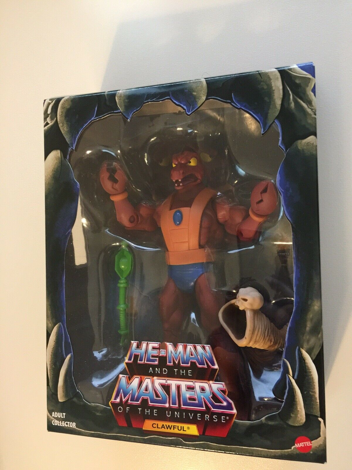 MATTEL Matty Collector MOTU CLASSICS CLAWFUL FILMATION ANIMATED He- Man New