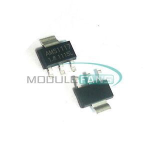 10pcs AMS1117-1.8 AMS1117 LM1117 1.8V 1A SOT-223 Voltage Regulator HIGH QUALITY
