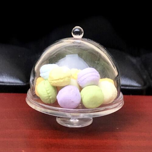 Dollhouse Miniature 1:12 Scale Dolls Plastic Dessert Snack Can Jar Pot  Kd