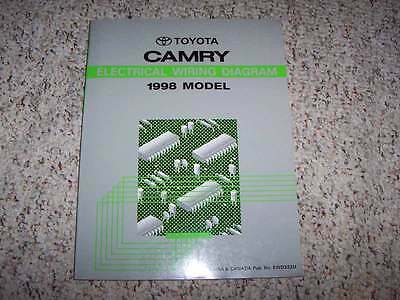 1998 Toyota Camry Electrical Wiring Diagram Manual CE LE ...